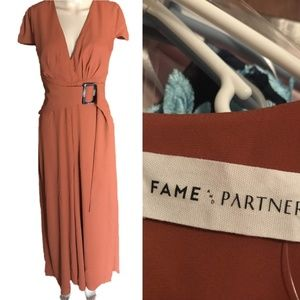 **HOST PICK** Fame and Partners Jumpsuit size 4